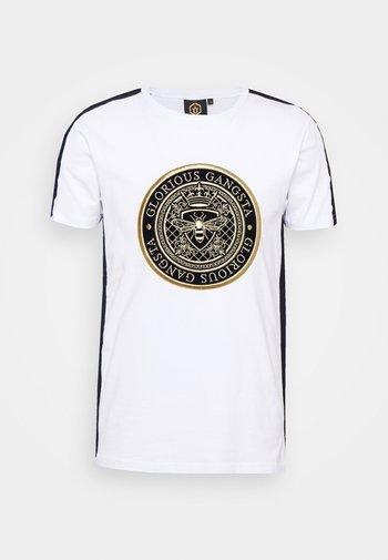 ALFARO TEE - T-shirt con stampa - optic white