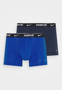 Nike Underwear - TRUNK 2PK COTTON STRETCH - Pants - blue - 3
