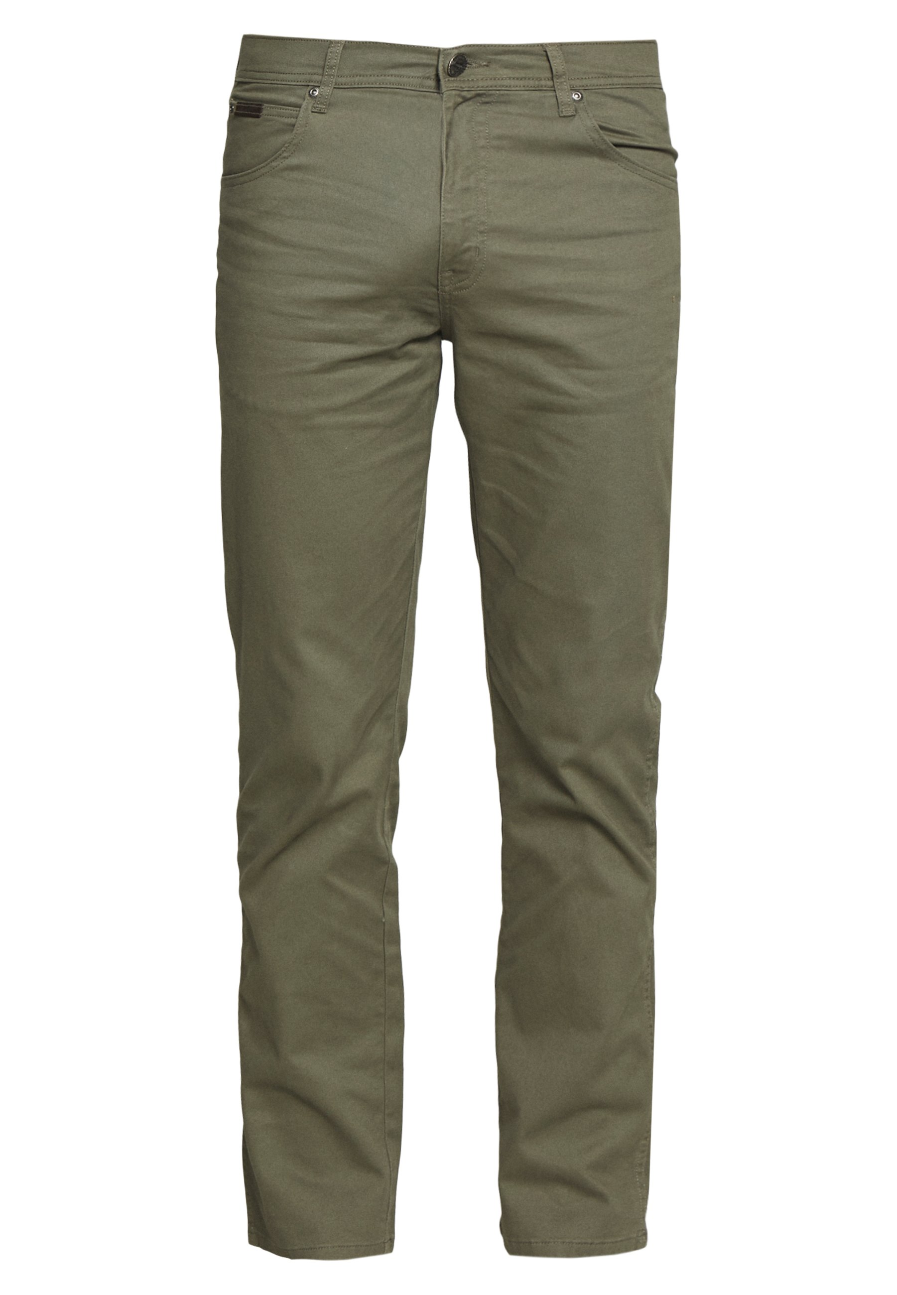 Wrangler TEXAS - Jean droit - dusty olive