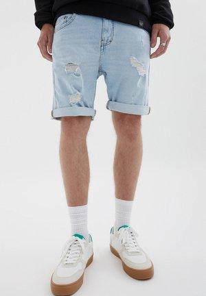 BERMUDA  - Jeans Short / cowboy shorts - light blue