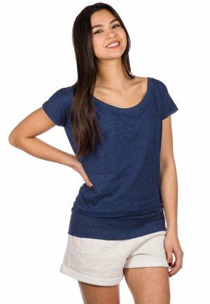HILDE  - Basic T-shirt - navy heather
