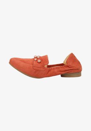 Foldable ballet pumps - red