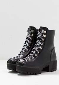 co wren - Platform ankle boots - black - 4