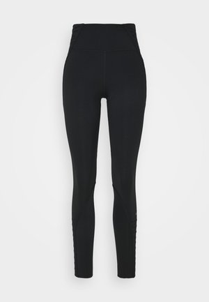 ONE LUX 7/8 LACING - Leggings - black