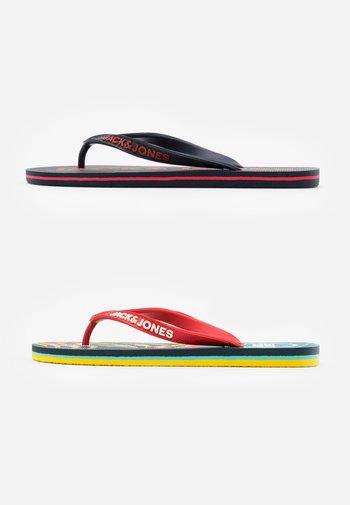 JFWFLIPFLOP 2 PACK MIX - T-bar sandals - multicolor