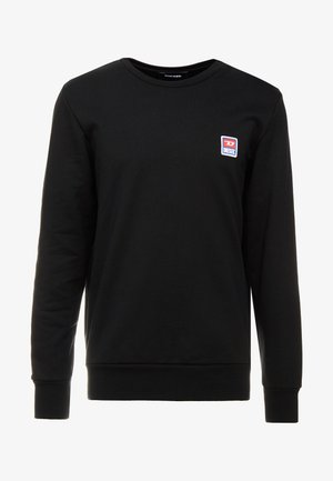 S-GIR-DIV-P SWEAT-SHIRT - Sweatshirt - black