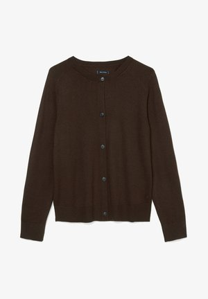 Cardigan - dark chocolate