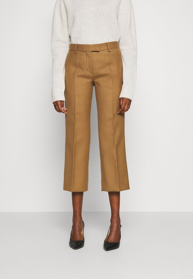 VERBENA - Trousers - dark honey
