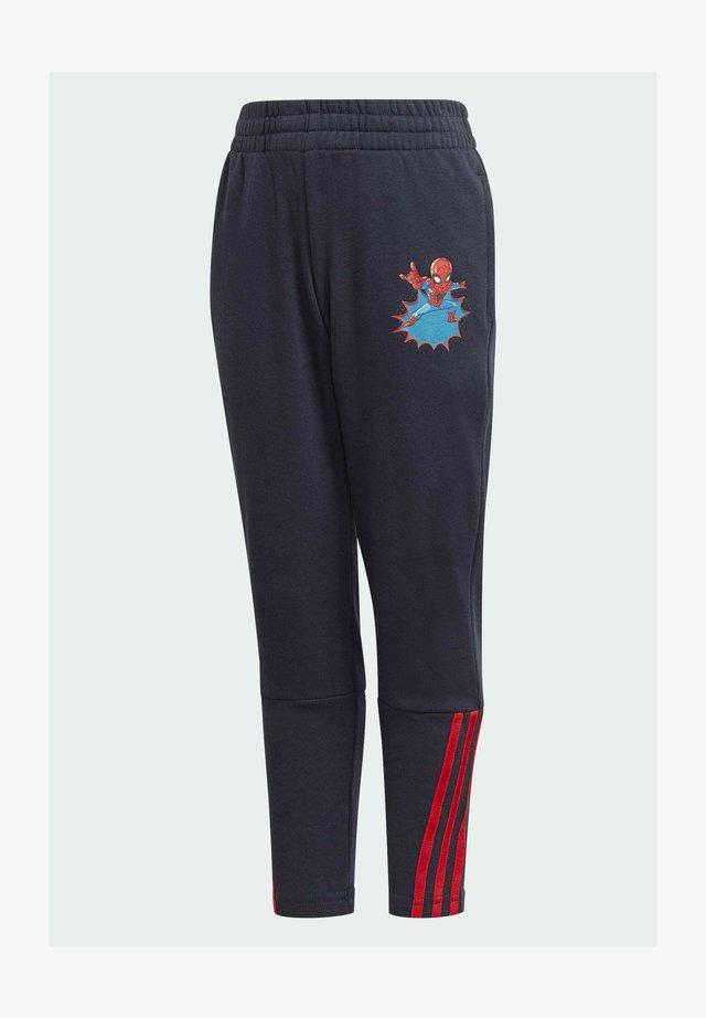 SHA DISNEY SPIDER-MAN REGULAR PANTS - Tracksuit bottoms - blue