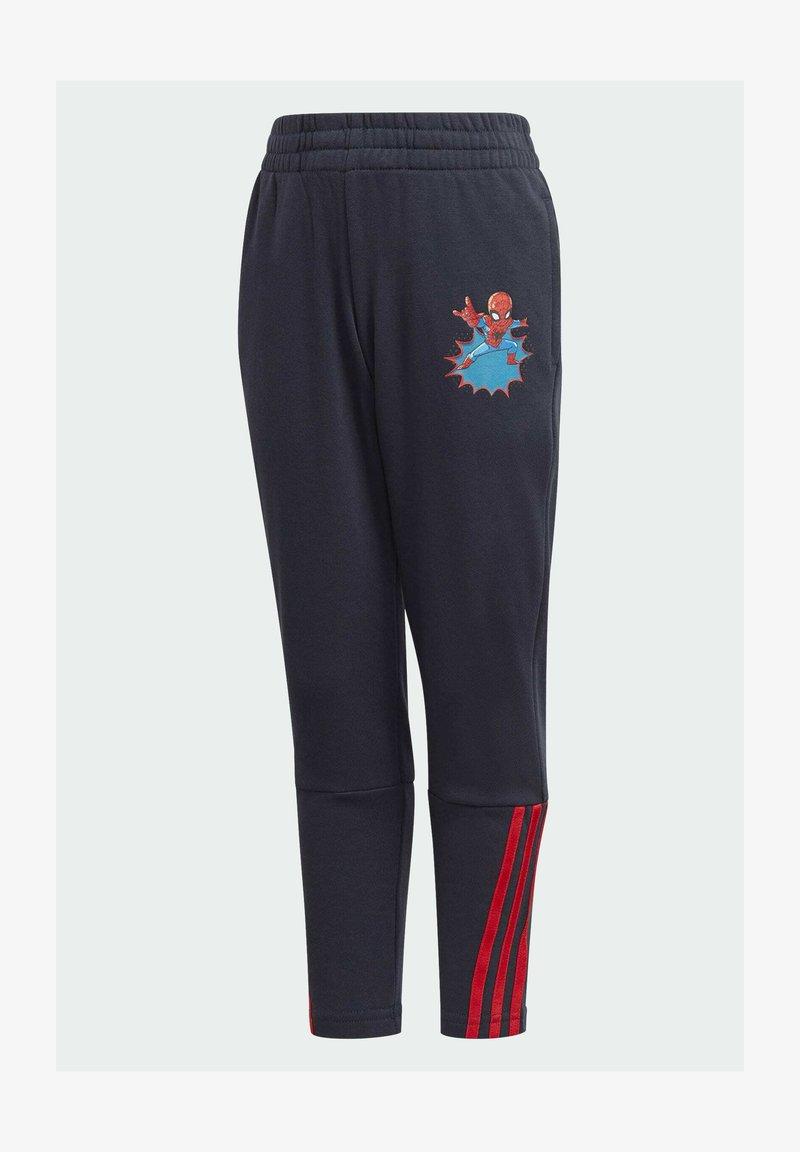 adidas Performance - SHA DISNEY SPIDER-MAN REGULAR PANTS - Tracksuit bottoms - blue