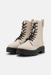 Call it Spring - VEGAN BOWIIE - Platform ankle boots - ice - 2
