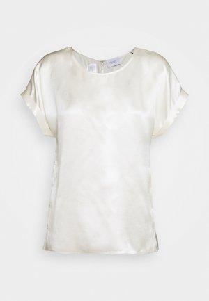 BLOUSE SHORT SLEEVE - Blouse - natural white