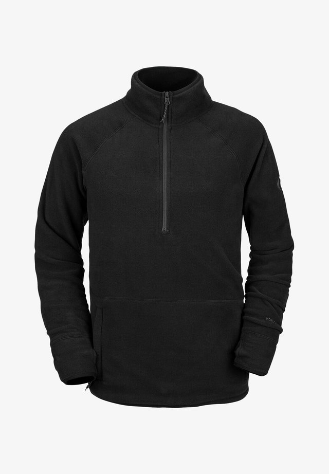 POLARTEC ZIP - Sweat polaire - black