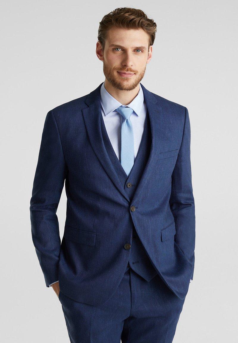 Esprit Collection - FIL-A-FIL  - Blazer jacket - dark blue