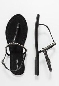 Anna Field Wide Fit - Flip Flops - black - 3