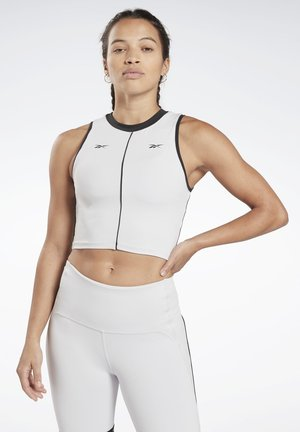STUDIO PERFORMANCE HIGH-INTENSITY TANK TOP - Topper - white