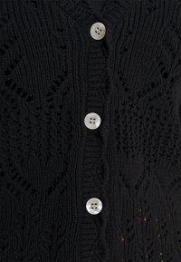 Monki - PEARL CARDIGAN - Cardigan - black - 3
