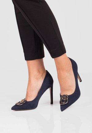 EVA - High heels - granatowy