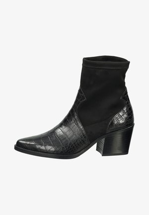 Boots à talons - schwarz 007