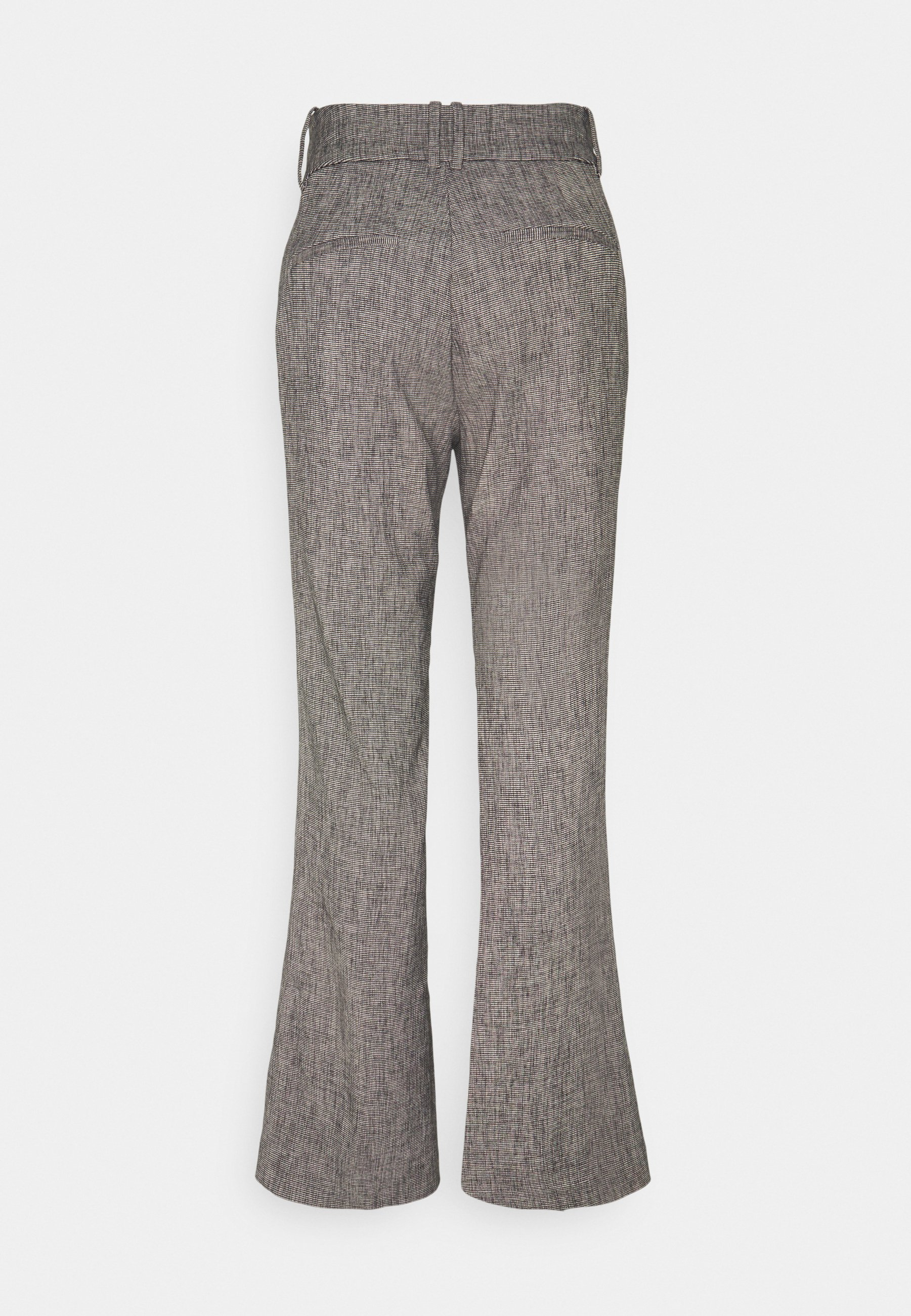 Inwear Verdii Bootcut Pant - Bukse Black / White/svart