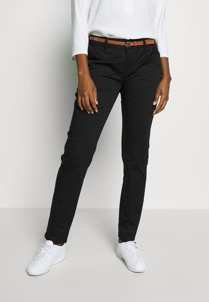 comma - Kalhoty - black