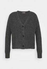 SOFT CARDIGAN - Kardigan - mottled grey