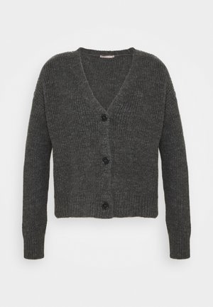 SOFT CARDIGAN - Cardigan - mottled grey