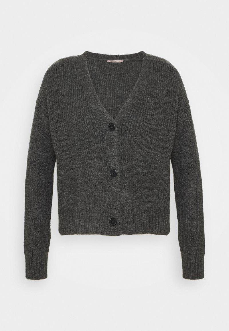 Anna Field - SOFT CARDIGAN - Cardigan - mottled grey