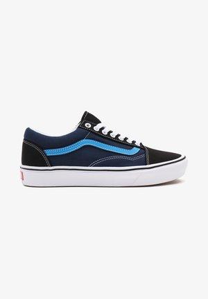 UA COMFYCUSH OLD SKOOL - Sneakers - tri-tone/ blk/dress bls
