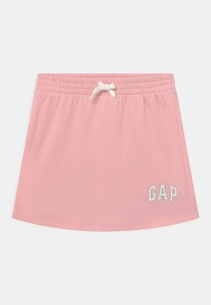 GIRL LOGO - Spódnica mini - shell pink