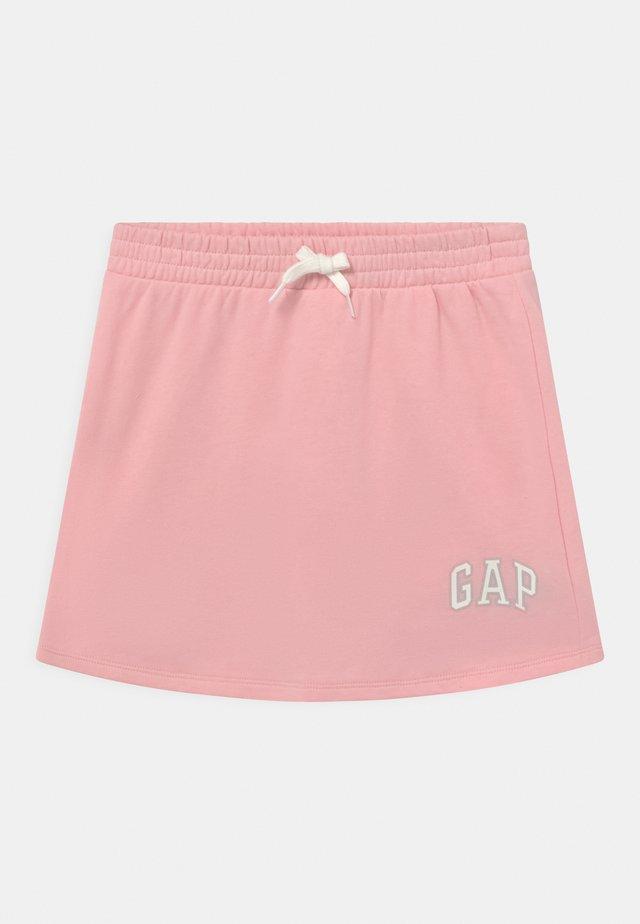 GIRL LOGO - Miniskjørt - shell pink