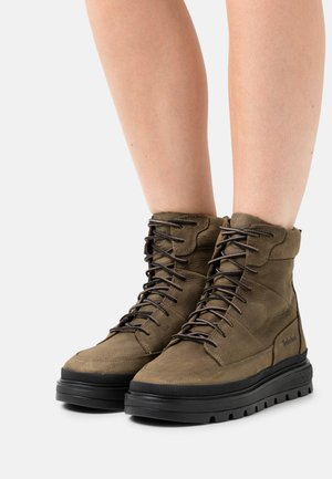 RAY CITY BOOT WP - Lace-up ankle boots - olive
