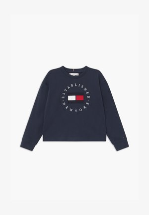 HERITAGE LOGO TEE  - Long sleeved top - blue