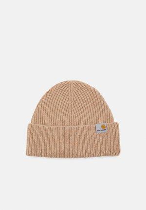 GABE BEANIE UNISEX - Adīta cepure - dusty brown