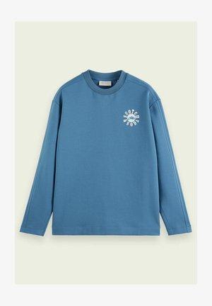 Sweatshirt - seventies blue