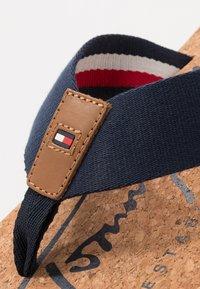 Tommy Hilfiger - SIGNATURE BEACH - T-bar sandals - blue - 5