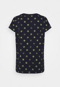 Esprit - Print T-shirt - dark blue - 1