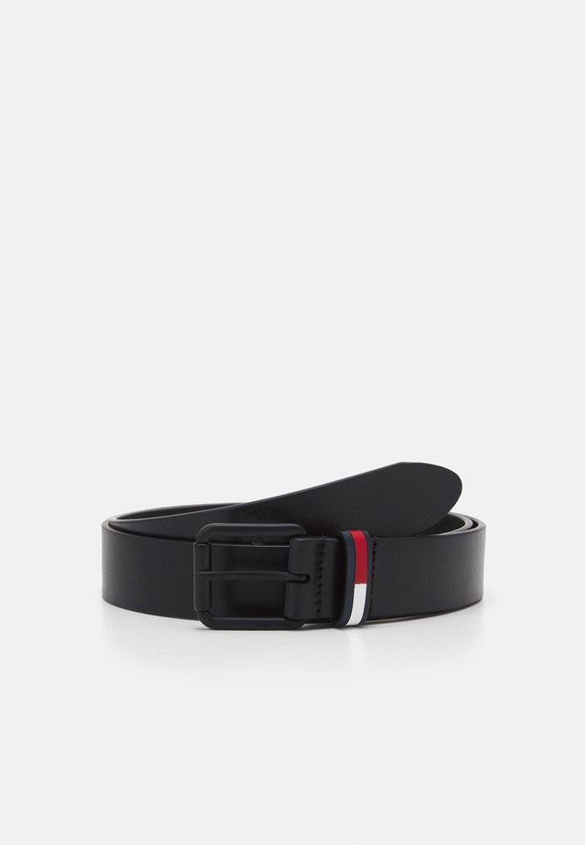 CASUAL FLAG BELT - Cintura - black