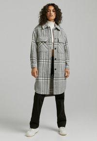 Bershka - Classic coat - grey - 1