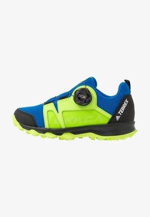 TERREX AGRAVIC BOA - Zapatillas de senderismo - glow blue/footwear white/signal green