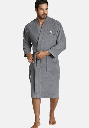 JANNING - Dressing gown - grey