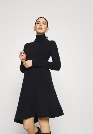 DRESS - Vestido de punto - black