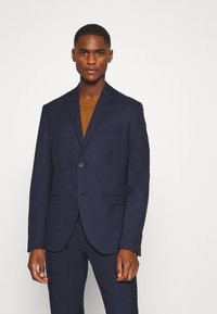 Isaac Dewhirst - CHECK SUIT - Traje - dark blue - 2
