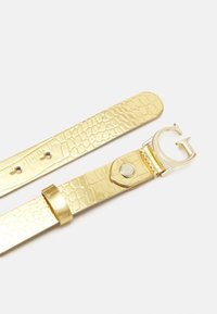 Guess - CORILY ADJUSTABLE PANT BELT - Riem - gold - 1