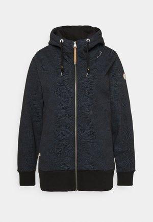 YODA ZIP ORGANIC - Sweater met rits - black