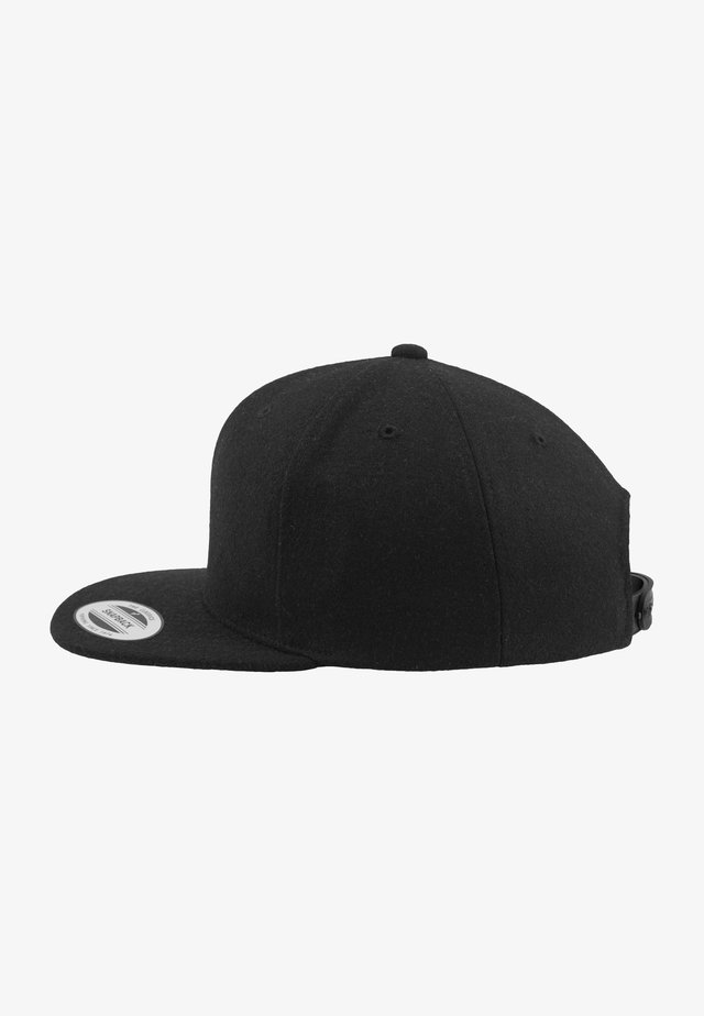 MELTON  SNAPBACK - Caps - black