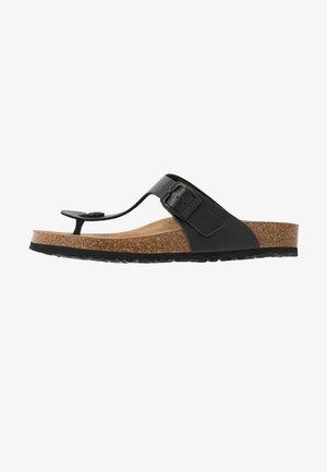 TAMARIS ZEHENTRENNER - Sandály s odděleným palcem - black