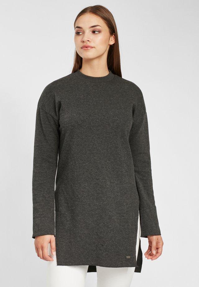 CITY - Sweatshirt - grey aop w/ black