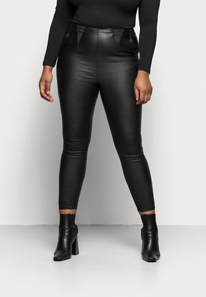 HIGH WAIST SHAPER - Slim fit jeans - black