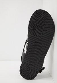 Zign - UNISEX - T-bar sandals - black - 4